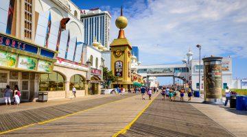 Atlantic City Casinos Suffers Revenue Drop Record